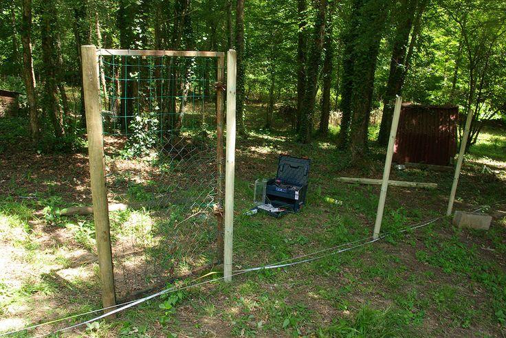 Nous allons acquérir deux chèvres naines au mois de Juillet, que nous avons déjà choisies et réservées chez une agricultrice des environs. Pour les accueillir, nous avons entrepris la construction d'une clôture afin de disposer d'un parc à chèvres fermé,...