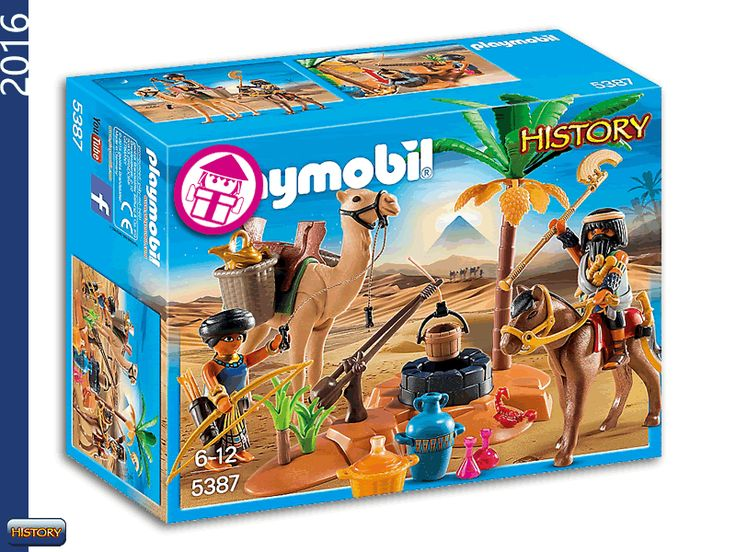 PLAYMOBIL 5387 Tomb Robbers Camp