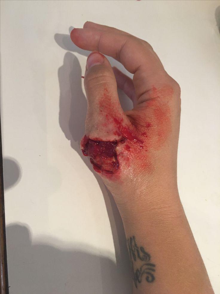 SFX make up wax wound By: Casey Parker Butt