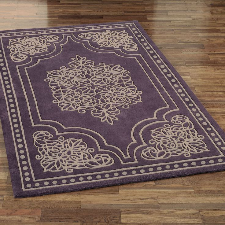 Vintage Lace Area Rugs Purple Area Rugs Shabby Chic