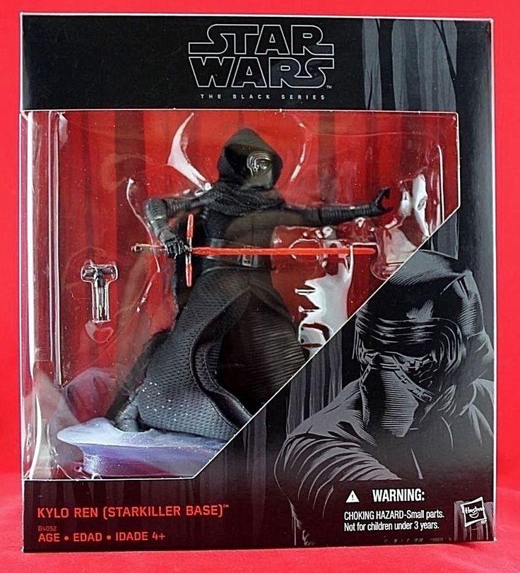 "Kylo Ren Starkiller Base Star Wars The Black Series Exclusive 6"" Free Shipping #Hasbro"