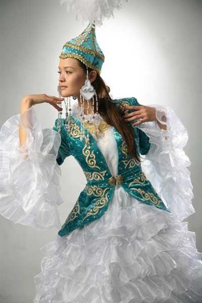 Казахские костюмы картинки