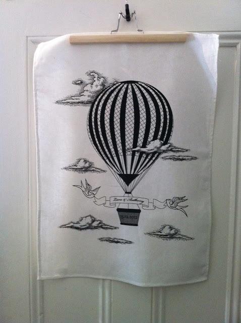 wedding tea towel favor by hello felton  hellofelton.blogspot.com.au