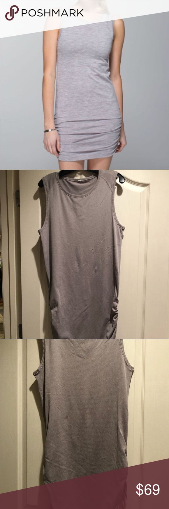 LULULEMON DRESS! Lululemon dress!! Excellent condition, extremely comfortable!  Ships within 1-2 days Non smoking household Any questions- feel free to ask! lululemon athletica Dresses