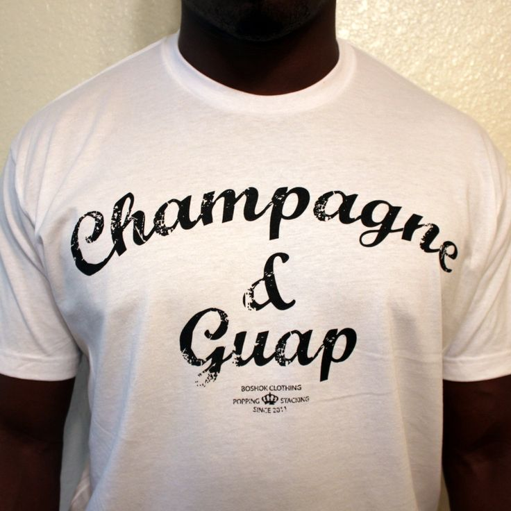 CHAMPAGNE & GUAP TEE -WHITE    Another piece from the Boshok Clothing Spring Collection.  #BoshokClothing #BoshokLife #BoshokClothing #Nigeria #Naija #Lagos #alife #asap #bbc #blackscale #crsvr #crooks #dgk #dmv #diamond #dmnd #fresh #huf #hundreds #10deep #sneakerhead #kazbah #karmaloop #lrg #monarch #obey #plndr #primitive #stussy #supreme #trukfit #thehundreds #female #streetwear #hipster #urban #Champagne #DomP