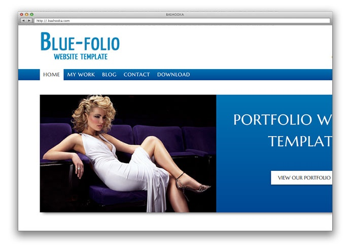 Free html website templates.