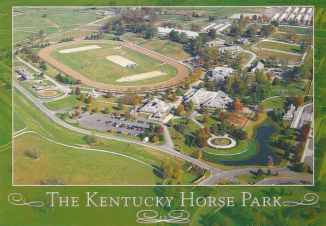 A horse lover's dream - I'd love to visit the Kentucky Horse Park someday.