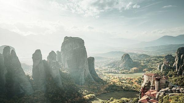 V uplynulých staletích bylo údolí plné ohromujících skalisek domovem poustevníků a mnichů.