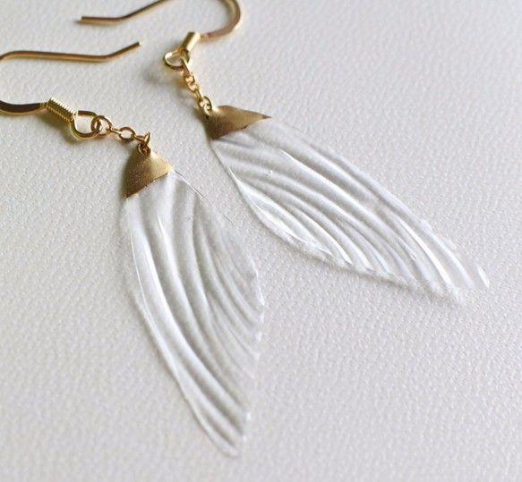 妖精の羽ピアス fairy wings accessory
