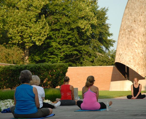 Morning Yoga from West of the Moon Writer's Retreat by Lafayette Wattles, via Behance