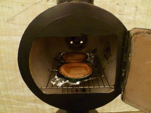 Heat exchanger, stack robber wood heated oven
