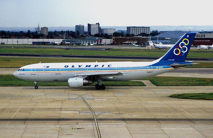 Olympic Airways A 300B4-103 (Odysseus) [SX-BEB]