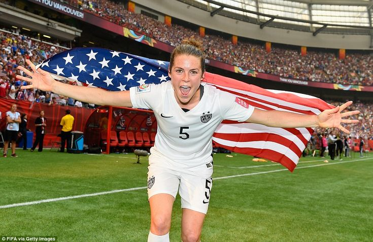 Kelley O'Hara, who scored in a semifinal win against Germany, posted on Twitter after the ..