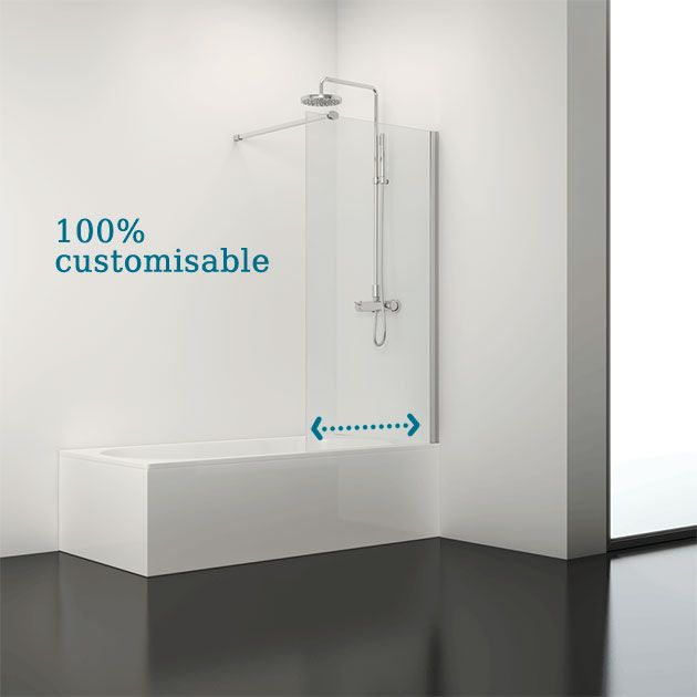Showers 'tailored' to meet your every need. Give us your measurements and we'll give you your enclosure. As for the design? It's up to you. It's 100% customisable.    Find more information at http://www.getyourshower.co.uk/custom-made.php