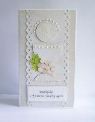 Communion card idea
