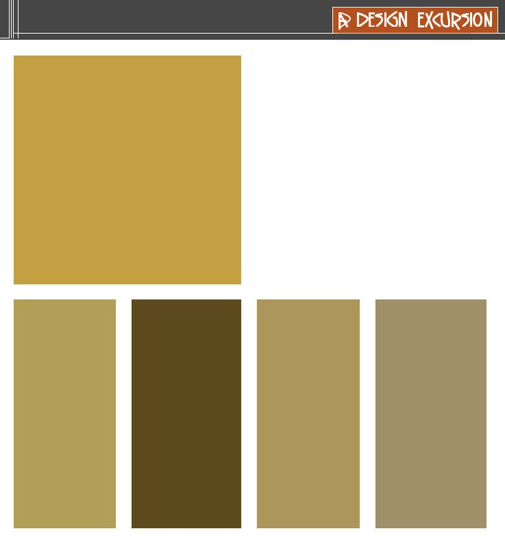 Color Schemes Taupe Orange Ivory: YELLOW/ORANGE .....A Tint Is Beige