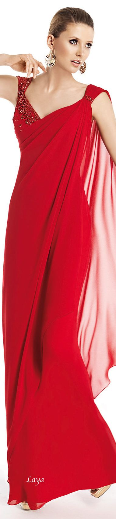 Red Evening dress-Pronovias 2014  available in our boutique :) http://www.pinterest.com/nadiouchcka/did-you-say-red/
