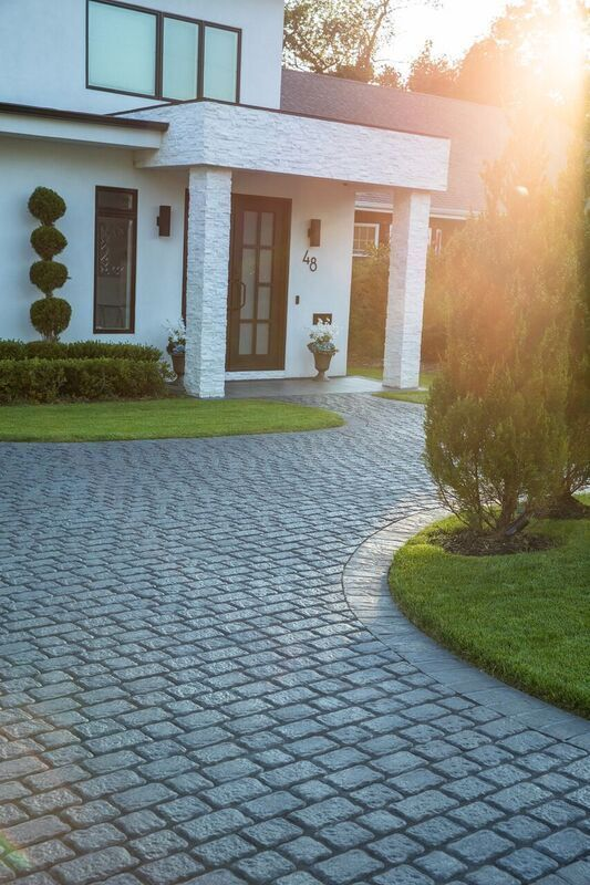 Create Your Own Style With Not Only Home But Driveway Cambridge Pavingstones And Armor Tec Installation East Coast Masonry