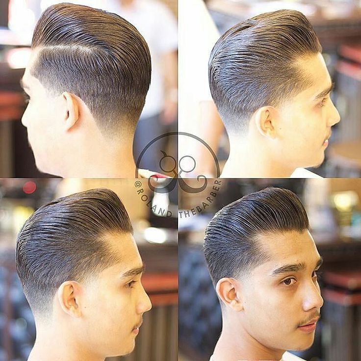 Immaculate grooming and precision #taper skills has  @roland_thebarber  grabbing the #goodlookoftheday!! Sleek #sidepartedpomp dressed with the one and only #KeepItTogether #layrite deluxe pomade #mensstyle #sidepart #hairstyle #mensgrooming #santaana #dtsa #americanbarbershopdtsa #dapper #layritestyle