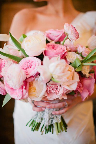 Spectacular Pink Wedding Bouquet! See the wedding here: http://www.stylemepretty.com/2014/05/16/texas-winter-glam-wedding/ Bouquet Design: BowsAndArrowsFlowers.com - Photography:  JenneferWilson.com
