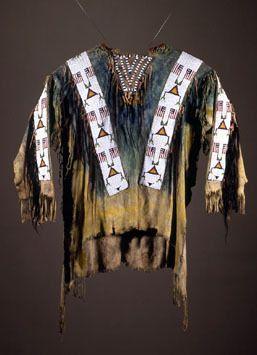 Fenimore Art Museum | Teton Sioux Shirt 1890.  Awesome!