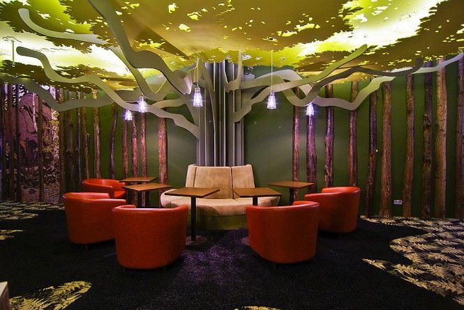More meeting spaces... Google's Russia Offices in St. Petersburg and Moscow, both designed by Swiss firm, Camenzind Evolution