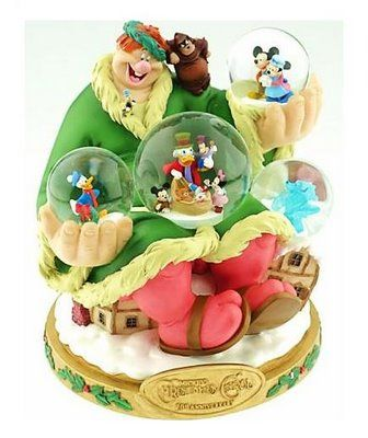 Disney Mickey's Christmas Carol Snowglobe