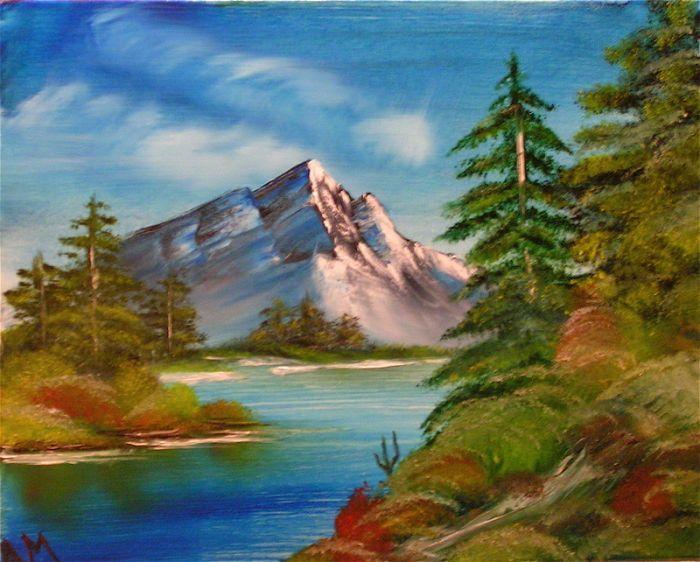 Yağlı Boya Tabloları Kolay Manzara Tablolar Painting Art Ve Resim