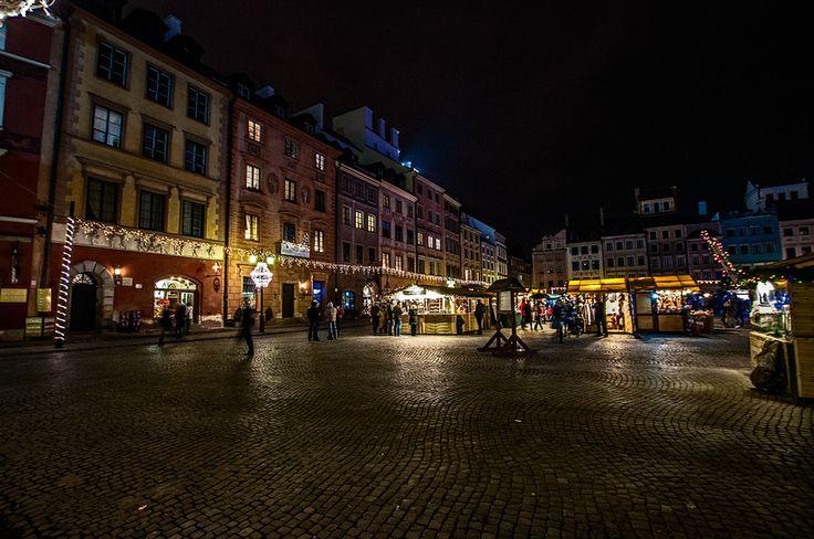 Poland Warsaw old town Polska Warszawa - stare miasto