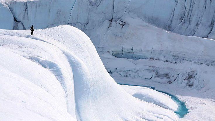 Ice Canyon Climbing
