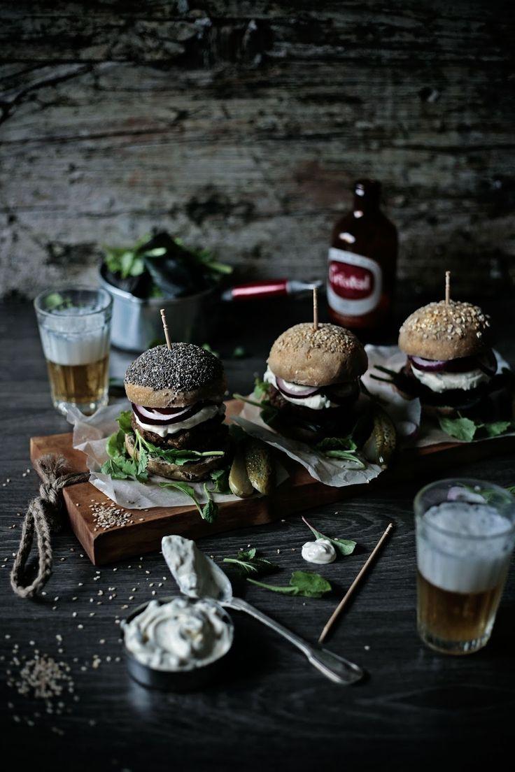Pratos e Travessas | Os meus hambúrgueres de vaca # My beef burgers