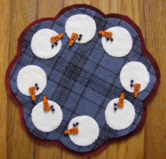 392 Best Images About Candle Mats On Pinterest