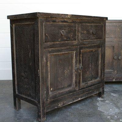 Bedside cabinet in reclaimed wood juxtaposition for Funky bedside cabinets