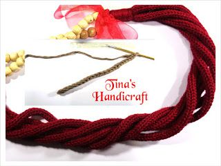 Tina's handicraft : crochet & knitting cord (2 video)