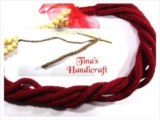 Tina's handicraft : crochet & knitting cord (2 video)