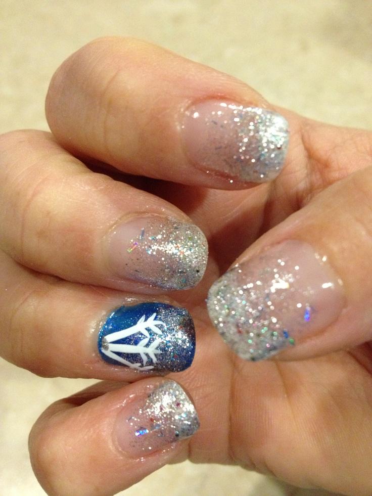 My New Years winter liquid gel nails | Christmas/winter nails ...