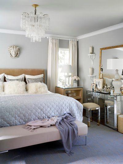amusing light blue white feminine bedroom   this i like - not overly girly but feminine and light ...