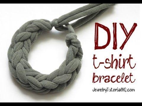 Jersey Finger Knitted Bracelets - DIY - AllDayChic
