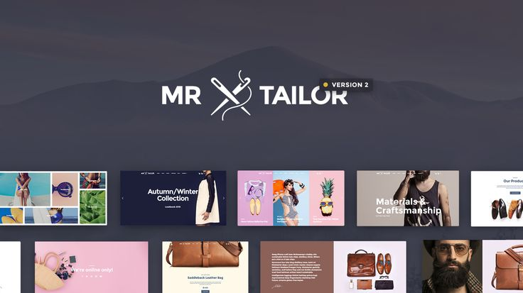 Mr Tailor is a highly-rated premium eCommerce WordPress theme, the theme of choice for many store owners, designers and developers.  #ecommerce #wordpress #wordpresstheme #premium #woocommerce #webdesign #designer