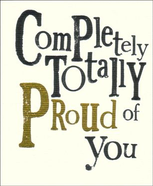 Image result for so proud of you