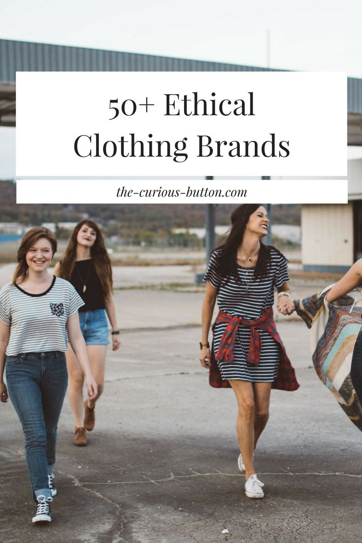 Ethical Clothing Brands Directory | 50th, Ethical fashion and Clothes