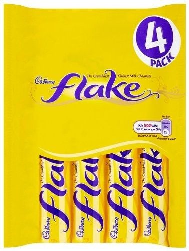 Cadbury Flake, a uniquely crumbly chocolate bar that's particularly good when combined with ice cream. | 31 Insanely Delicious Candies That You'll Wish You Knew About Sooner