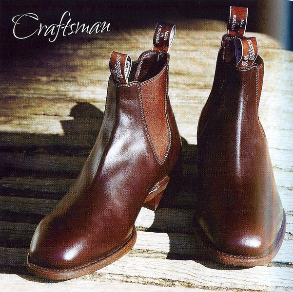 RM Williams Chelsea Boot - Whole cut leather upper... A Boot to have