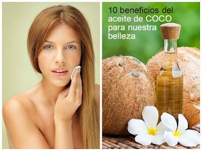 10 usos del aceite de coco en la belleza ~ Belleza y Peinados