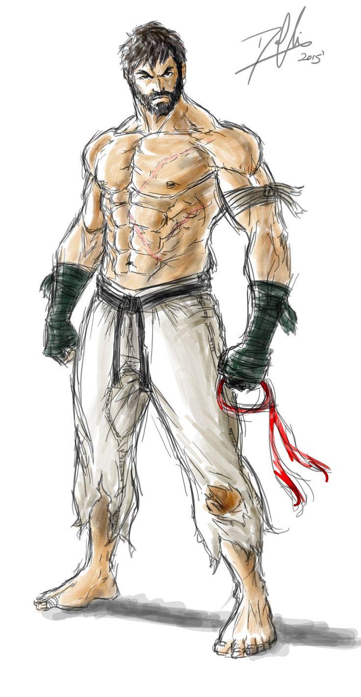 Ryu Alternate (Street Fighter V) by DHK88 on DeviantArt