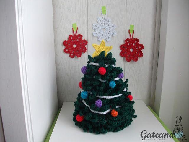 Patrón Árbol de Navidad Crochet / Crochet Pattern Christmas Tree