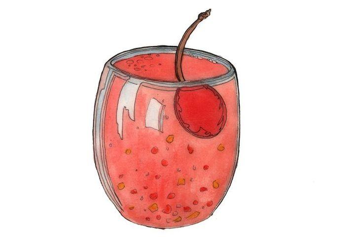Een lekkere 'spiked' punch met rum, sinaasappellikeur en fruit. Niet voor de kleintjes! ingrediënten: 150ml witte rum 150ml donkere rum 75ml sinaasappellikeur 350ml ananassap 350ml sinaasappelsap 1 blik ananasstukjes, incl. siroop het sap van 2 limoenen 75ml grenadinesiroop 1 blik fruit cocktail incl. siroop ter versiering: ijsblokjes maraschino kersen / schijfjes citroen of sinaasappel * …
