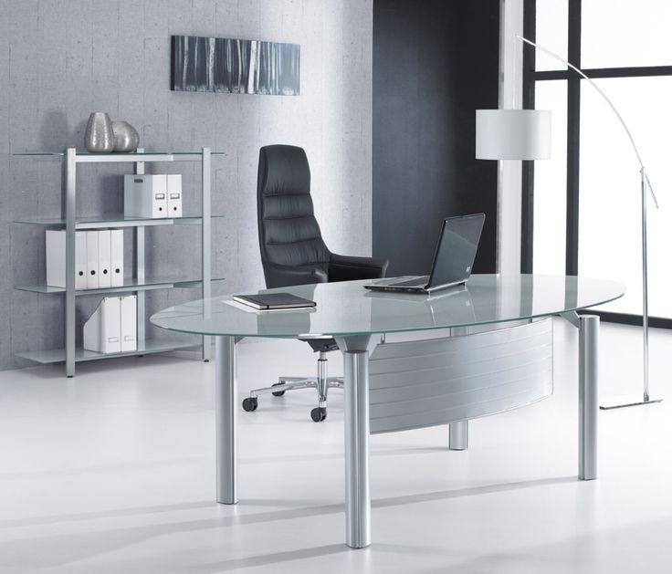 Glass Office Tables unique glass office tables outstanding top intended decor