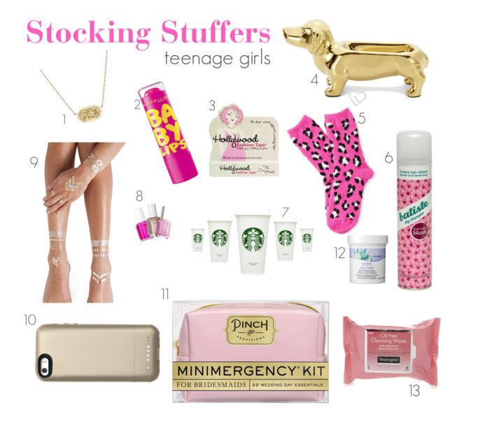 Stocking Stuffer Guide for Teenage Girls