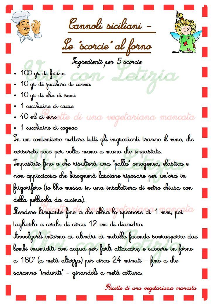 Risultati immagini per cannoli siciliani al forno